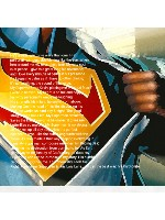 My Superman 16 x 16 Custom Canvas Print