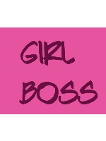 Girl Boss Canvas Print 14x11