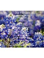 Our Hands Canvas Print 24x20