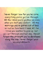 Never Forget Canvas Print 12x12