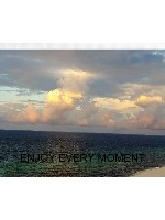 enjoy every moment Canvas Print 30x24
