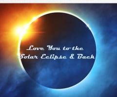 Solar Eclipse Canvas Print 20x16