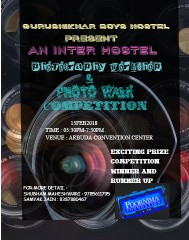 photography competition poster Canvas Print 12x16