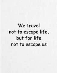 Travel Escape Canvas Print 12x16