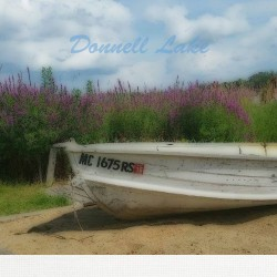 Donnell Lake 2 16 x 16 Custom Canvas Print