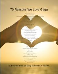 Gaga Canvas Print 12x16