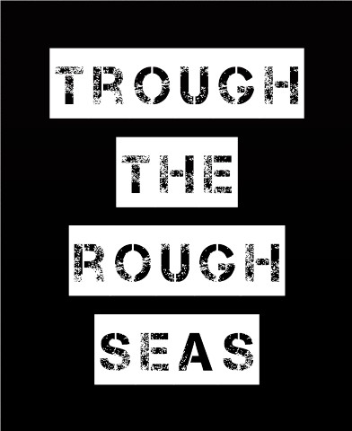 Trough the rough seas Canvas Print 24x30