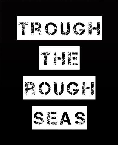Trough the rough seas Canvas Print 24x30