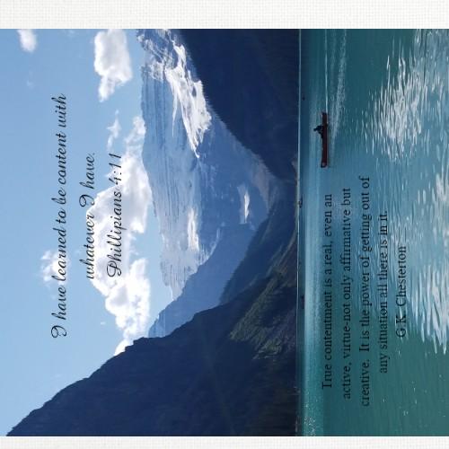 Lake Louise Banff 20 x 20 Custom Canvas Print