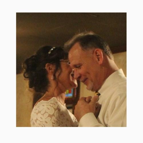 "wedding dance 8"" 8 x 8 Custom Canvas Print"