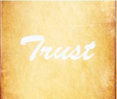 Trust Canvas Print 10x8