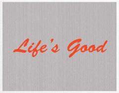Life's Good Canvas Print 16x12