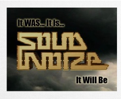 SOLID NOIZE Canvas Print 30x24