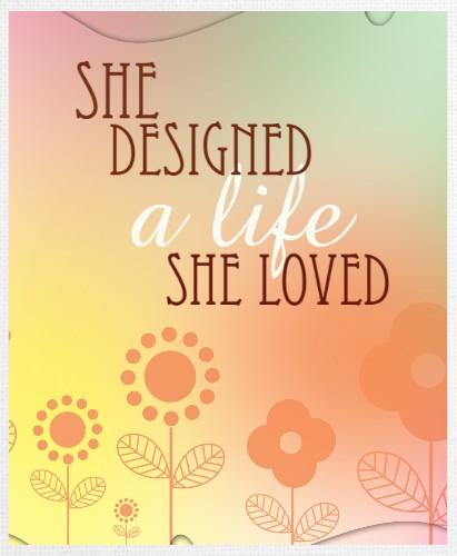 Design #48217 (Inspirational/Motiva Canvas Print 11x14