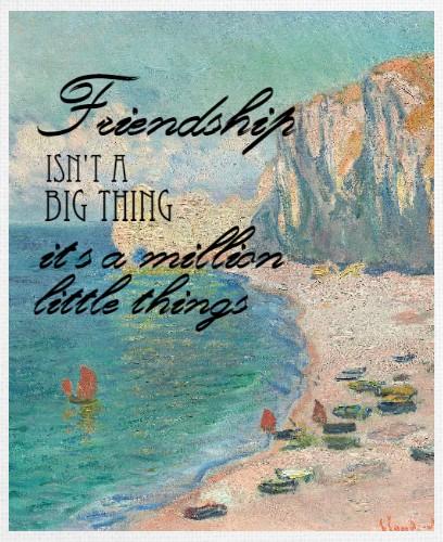 Design #48218 (Friendship) Canvas Print 24x30