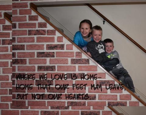home Canvas Print 16x12