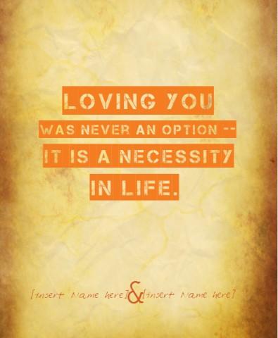 Design #49129 (Love) Canvas Print 11x14