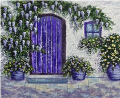 Design #49455 (Paint) Canvas Print 14x11