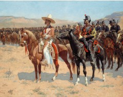 The Mexican Major - 1889 by Frederi Canvas Print 16x12