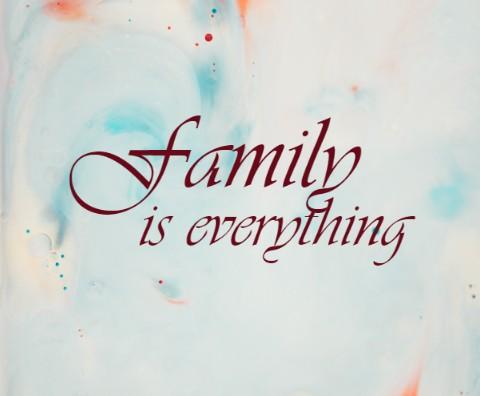Family Quote Canvas Print 20x16
