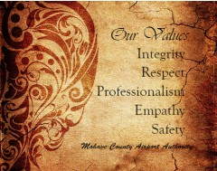 Our Values Canvas Print 16x12