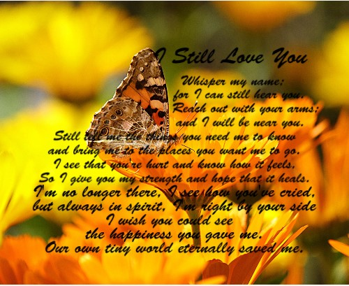 I Still Love You 20 x 16 Custom Canvas Print XPress