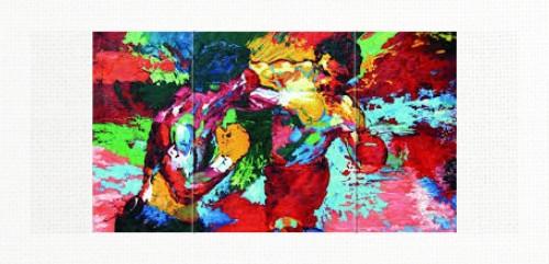24 x 10 Triptych