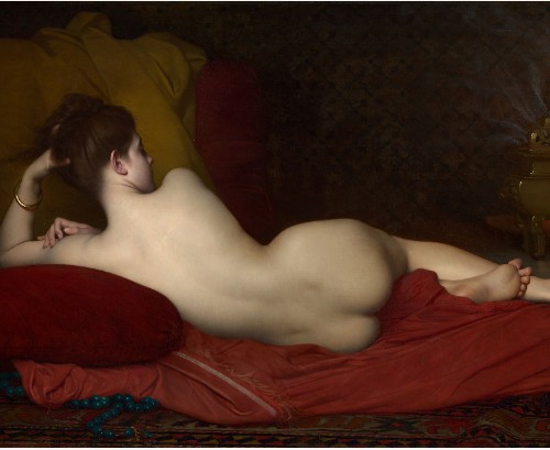 Odalisque by Jules Joseph Lefebvre 20 x 16 Custom Canvas Print XPress