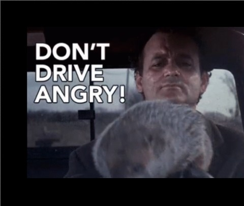 Dont Drive Angry! Canvas Print 10x8