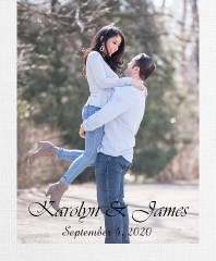 Jimmy and Karolyn Canvas Print 16x20