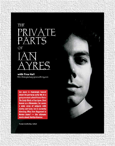 The Private Parts of Ian Ayres Canvas Print 12x16