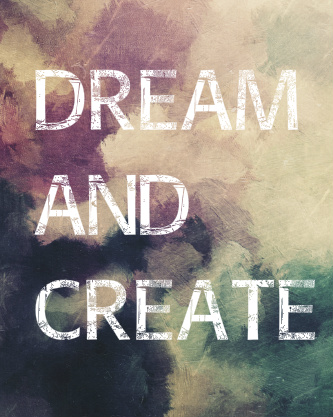 Dream and Create Canvas Print 16x20