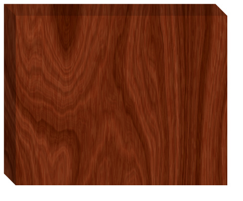 Regular Wood Grain Canvas Print 20x16