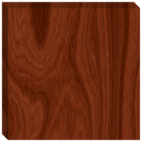 Regular Wood Grain Canvas Print 24x24