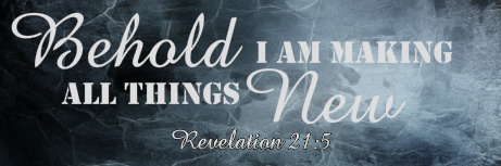 Revelation 21:5 36 x 12 Custom Canvas Print
