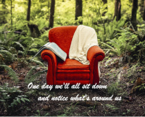 inspirational chair canvas Canvas Print 20x16