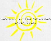 Sunshine Canvas Print 10x8