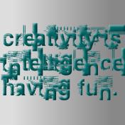 Creativity Canvas Print 24x24