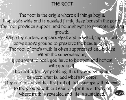 THE ROOT Canvas Print 30x24