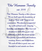 Hamann Family Canvas Print 20x24