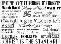 Kristi's Wisdom 14 x 10 Custom Canvas Print