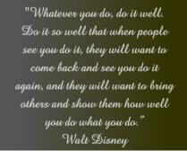 Walt Disney Do Well Canvas Print 20x16
