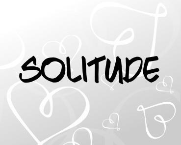 Solitude Canvas Print 10x8