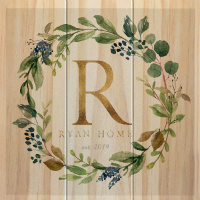 Ryan Home wood MakeCanvasPrints Canvas Print
