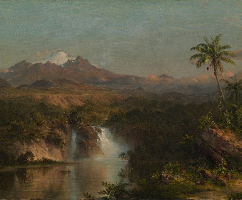 Cotopaxi by Frederic Edwin Church Canvas Print 20x16