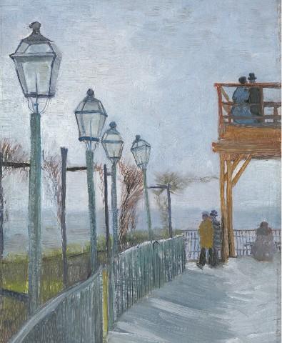 Montmartre Canvas Print 11x14