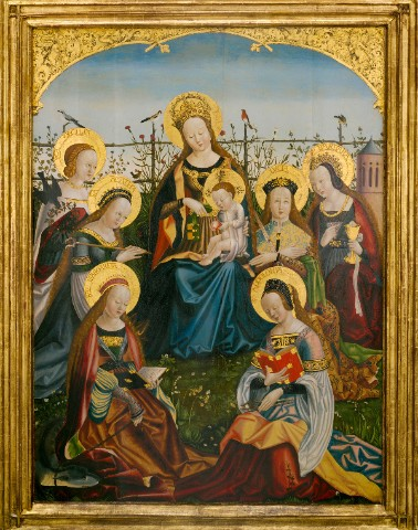 Virgins and Saints Canvas Print 12x16
