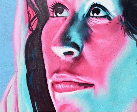 Design #49842 (Paint) Canvas Print 14x11