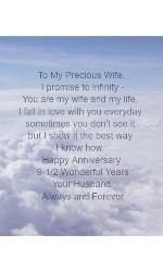 To my wife  24 x 30 Custom Canvas Print XPress