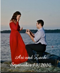 Ari and Zach 16 x 20 Custom Canvas Print XPress